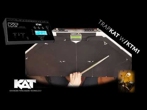 trapKAT v6 with the KT-M1 Sound Module from KAT Percussion