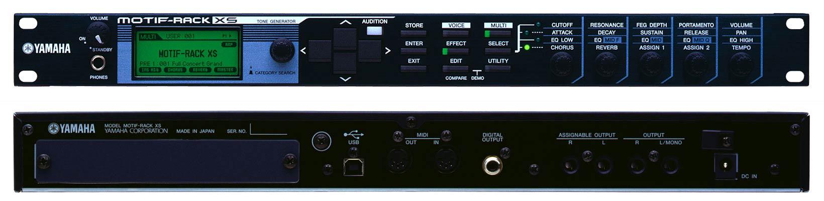 analog gear synths modules yamaha motif rack xs alternate mode inc. Black Bedroom Furniture Sets. Home Design Ideas