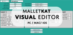 malletKAT Visual Editor